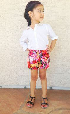Oliver + S Floral Sailboat Shorts by megamora16, via Flickr