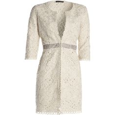 NIC+ZOE Lace Coat ($348) ❤ liked on Polyvore