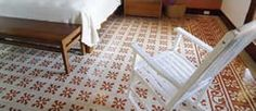 Avente Tile Project: Cement tile #rugs add warmth to any space