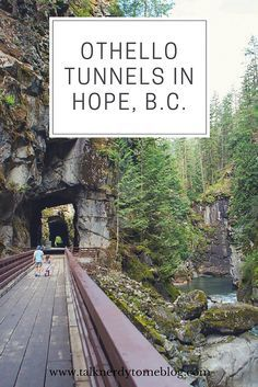 Othello Tunnels in Hope, B.C. is a great day trip from the Lower Mainland. Take a short hike, explore the tunnels and the river.