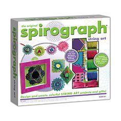 ThinkGeek :: Spirograph String Art