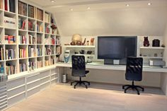 A perfect, modern, and bright home office. Barcelona, Spain Coldwell Banker Prestige Real Estate