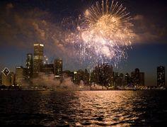 wall art, summer bucket lists, lake michigan, chitown, fireworks, 4th of july, chicago, place, new years