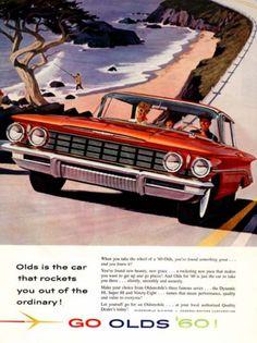 General Motors Oldsmobile 1960, my daddy loves Olds