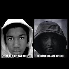 Trayvon & Martin