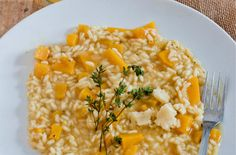 Butternut Cider Risotto with Lancashire Cheese — Punchfork