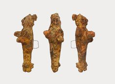 Artifacts in Istanbul Break New Ground. Hurrian female figurines, early Hittite era, 1800 BCE. Found at Küçükçekmece, Istanbul. An archaeological discovery in suburban Istanbul could soon force a rewrite in history books as new research has shown that the early Hittites actually ventured onto the European continent, having previously been assumed to have remained only in Asia.  [Credit: Hurriyet]
