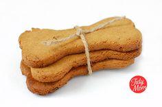 Peanutbutter and Bacon Homemade Dog treats