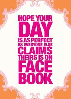 Having a Facebook Day?