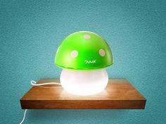 mushroom humidifi, baby humidifier, lamp mushroom, mushroom green, babi, night lamp, mushrooms
