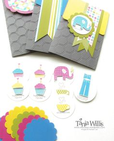 Patterned Occasions « Inkydayz Box set of cards - so cute & great idea