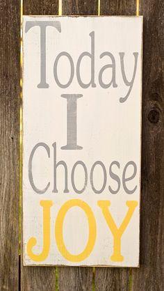 Choose Joy!