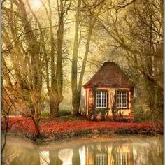 Alsace, FR... I am so there ! wood, dream, fairy tales, tiny cottages, france, hous, place, little cottages, river cottage