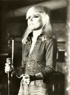 I know what boys like, I know what guys want... Debbie Harry as Blondie