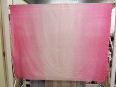 diy ombre table cloth