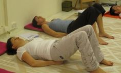 An exercise to relax stiff neck. This exercise is efficient for dealing with frustration, which has a tensing effect on the neck area.
