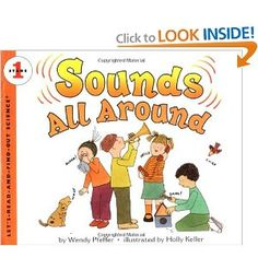 Sounds All Around (Let's-Read-and-Find-Out Science 1) 3rd scienc, sound unit, grade scienc, teach sound, sound scienc, book list, grade book, children book, letsreadandfindout scienc