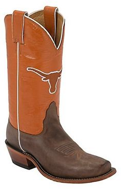 Original University Of Texas Gameday Boots Womens Cowboy Boots Shoes 7 New | EBay