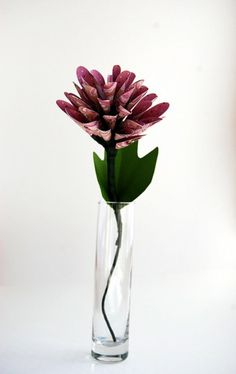 Spiky Dahlia Scrapbook Paper Flower