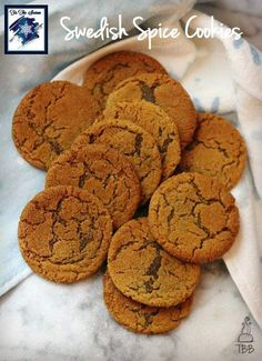 Swedish Spice Cookies