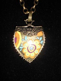boho heart necklace 2013 $15.00 #giftideas #birthdaygirl  #cutefashion #fashionblogger #freeshipping  #boho
