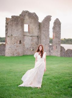 Crom Castle Ireland Shoot  Read more - http://www.stylemepretty.com/2013/12/23/crom-castle-ireland-shoot/