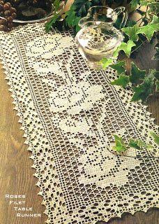 Crochet carpetas on pinterest doily patterns crochet - Set de table crochet ...
