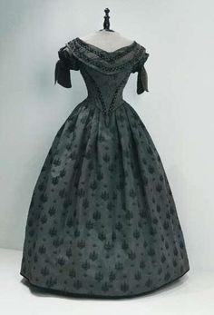 1855 evening gown | Evening dress, 1855, Croatia.