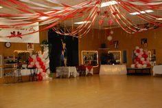 birthdays, decorating ideas, banquet, graduation ideas, graduation decorations, ceilings, graduat idea, parti, valentine party