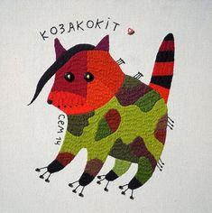 Ivan Semesyuk | Banderyky ✭ textile design projet // art textile