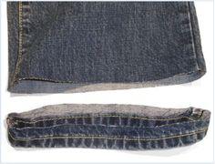 Original hem jeans