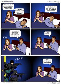 Google vs. 911 [COMIC]