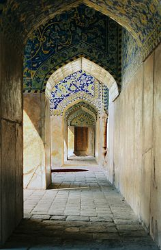 Shah Mosque is one of the oldest in Isfahan, Iran. #iran #travel #mosque