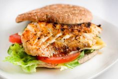 Grilled Fish Sandwich