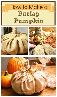 This adorable burlap pumpkin cost less than $5 and is so easy to make with items you may already have on hand. And you won't believe what it's stuffed with!