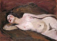 Nu allongé sur un coude - Emilie Charmy 1925