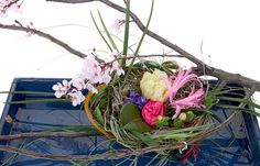 Cherry Blossom Basket by Flower Factor, via Flickr