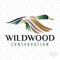 Exclusive Customizable Logo For Sale: Mallard Duck conservation | StockLogos.com