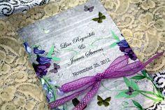 cobalt blue butterfly wedding invitation homes
