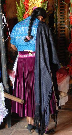 Purepecha Woman Mexico by Teyacapan, via Flickr