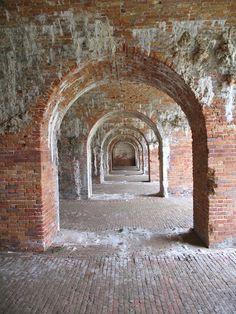 Fort Morgan, entrance of Mobile Bay, AL