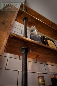 Pipe and shelf method