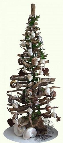 driftwood christmas tree | Here's another contemporary alternative Christmas tree idea – and ...