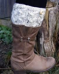 free knit boot cuff pattern - Google Search