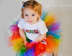 Chunky Rainbow Tutu