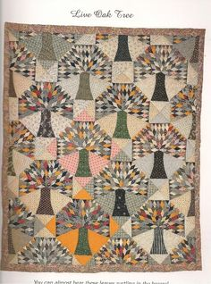 9 Full Size Patterns of Antique Quilts Live Oak Tree or Red Schoolhouse | eBay