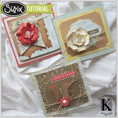 Sizzix Tutorial | How to Use Sizzix Accessory Tools by Vivian Keh