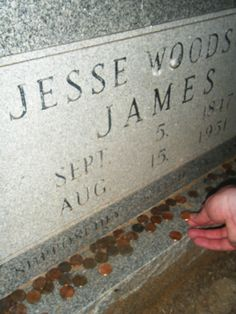 """Granbury, TX has a great ghost tour, and nearby is a cemetery with the resting place of the """"real"""" Jesse James. ghost"""
