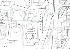 Sheaf Island Works map from 1891