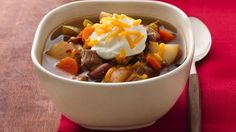 Spicy Chunky Beef Chili Recipe